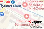 Схема проезда до компании Харківська міська клінічна лікарня №30 в Харькове