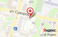 Схема проезда до компании Стерх в Хабаровске