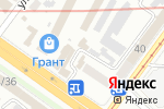 Схема проезда до компании ЕВРО-КОМФОРТ в Харькове
