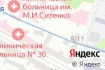 Схема проезда до компании Imagine в Харькове
