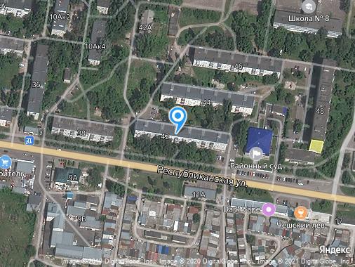 Аренда 2-комнатной квартиры, 46 м², Курск, улица Республиканская, 42