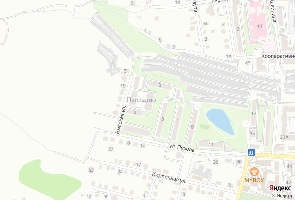 жилой комплекс Palladio (Палладио)