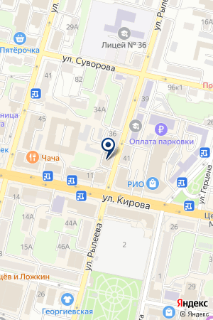 АКЦИОНЕРНЫЙ БАНК ГАЗЭНЕРГОБАНК на карте Калуги