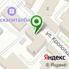 Местоположение компании РЕНОВАЦИЯ