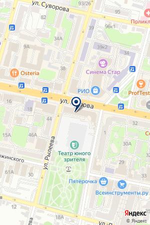 АПТЕКА ДРУЖИНИНА Н.И. на карте Калуги