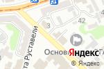 Схема проезда до компании Нотариус Шефель Д.С. в Харькове