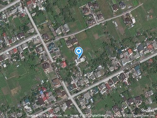 Продаем землю под ИЖС, 5 соток, Курск, улица Цюрупы, 94