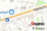 Схема проезда до компании Orion в Харькове
