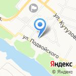 Калужская Федерация Каратэ на карте Калуги