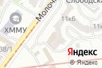 Схема проезда до компании Dance Town UA 21 в Харькове