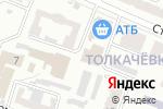 Схема проезда до компании Багет в Харькове