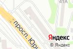 Схема проезда до компании Appleservice в Харькове