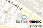 Схема проезда до компании UNIDeck в Харькове
