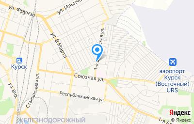Местоположение на карте пункта техосмотра по адресу г Курск, ул Щигровская 1-я, д 52