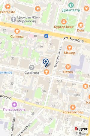 РУССКИЙ СЛАВЯНСКИЙ БАНК на карте Калуги
