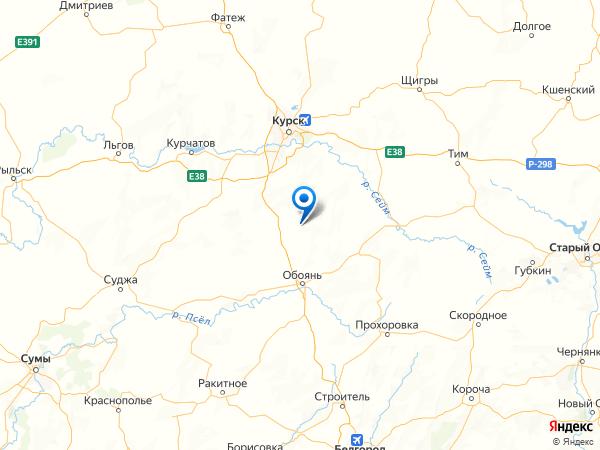 населенный пункт Красный Кут на карте