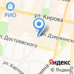 Юридическое бюро Ковалёв и партнёры на карте Калуги