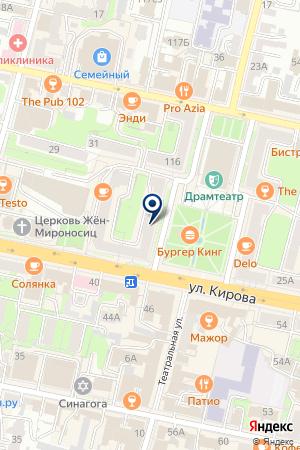 БАНК ЛЕКС-ФИНАНС на карте Калуги