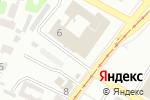 Схема проезда до компании Нотариус Чуприна Г.А. в Харькове
