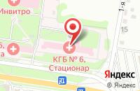 Схема проезда до компании Курская городская больница №6 в Курске