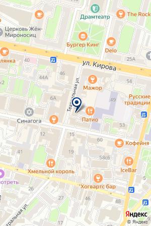 ПТФ НАДЕЖДА на карте Калуги