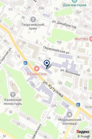 БЛАГОТВОРИТЕЛЬНЫЙ ФОНД РОССИЙСКИЙ ФОНД МИЛОСЕРДИЯ И ЗДОРОВЬЯ на карте Калуги