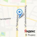 Киоск по продаже хлебобулочных и кондитерских изделий на карте Калуги
