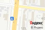 Схема проезда до компании Афина-Групп в Харькове
