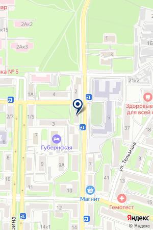 РАДИОУЗЕЛ на карте Калуги