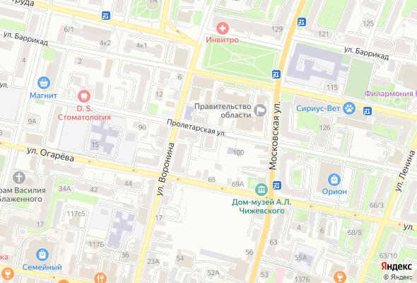 жилой комплекс Дом по ул. Пролетарская