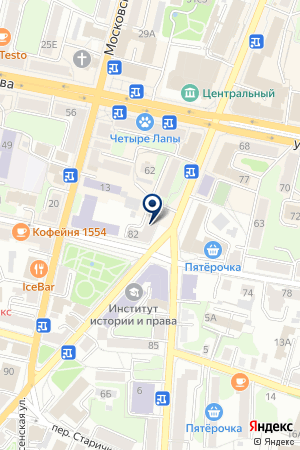 БАНК ВТБ 24 на карте Калуги