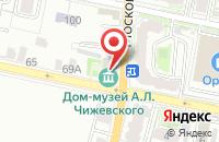 Схема проезда до компании Суперстрой в Иваново