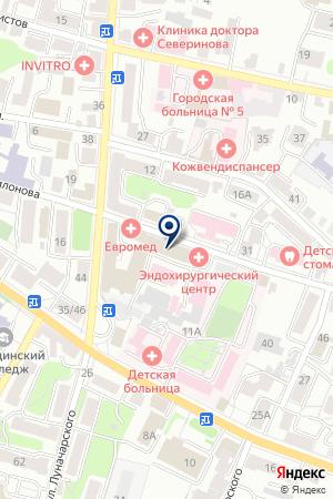 ТСЦ ЛАДАСТРОЙПРОЕКТ на карте Калуги