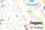 Схема проезда до компании Почтовое отделение №80 в Харькове