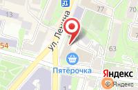 Схема проезда до компании Калужский областной совет профсоюзов в Калуге