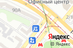 Схема проезда до компании Вираж в Харькове