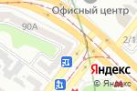 Схема проезда до компании Сан тур в Харькове