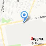 Воронежкомплект на карте Курска