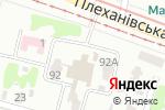 Схема проезда до компании Гюра в Харькове