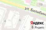 Схема проезда до компании Бархат в Калуге