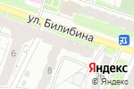 Схема проезда до компании SKмебель в Калуге