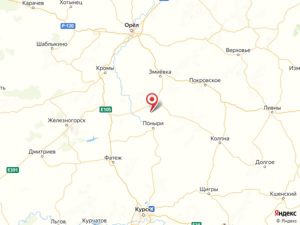 деревня Ильинское на карте