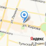 KINDER на карте Калуги