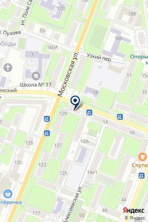 АПТЕКА ГОЛИКОВА Л.Н. на карте Калуги