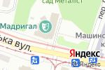 Схема проезда до компании UNICAR в Харькове