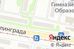 Схема проезда до компании Kazimir в Харькове