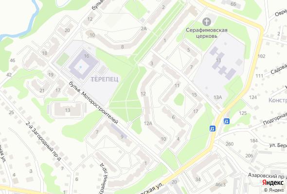 жилой комплекс Дом на бульваре Моторостроителей