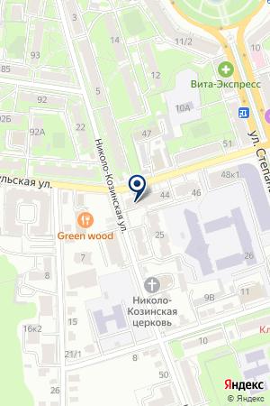 АКБ БАНК МОСКВЫ на карте Калуги