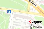 Схема проезда до компании Нотариус Жиделева А.Ю. в Харькове
