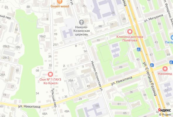 жилой комплекс по ул. Николо-Козинская